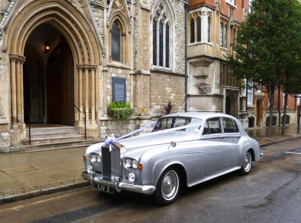 Silver Rolls Royce Wedding Car Wedding Car Hire Kingston